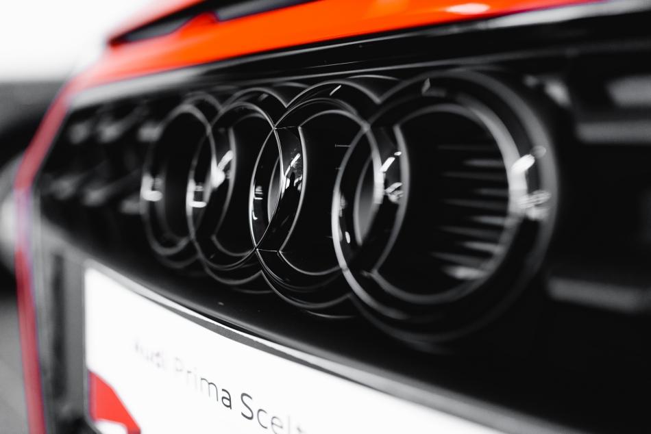 Kit loghi neri e badge Audi_Kultur